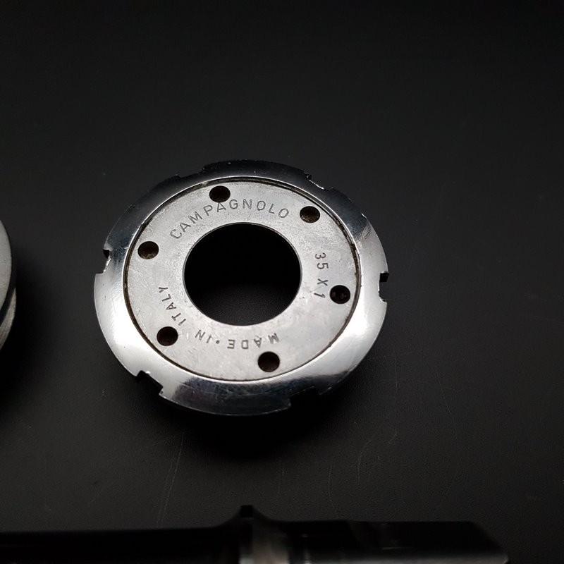 """Crank axis """"CAMPAGNOLO ATHENA"""" 114 mm 35 x 1 (Ref 312)"""