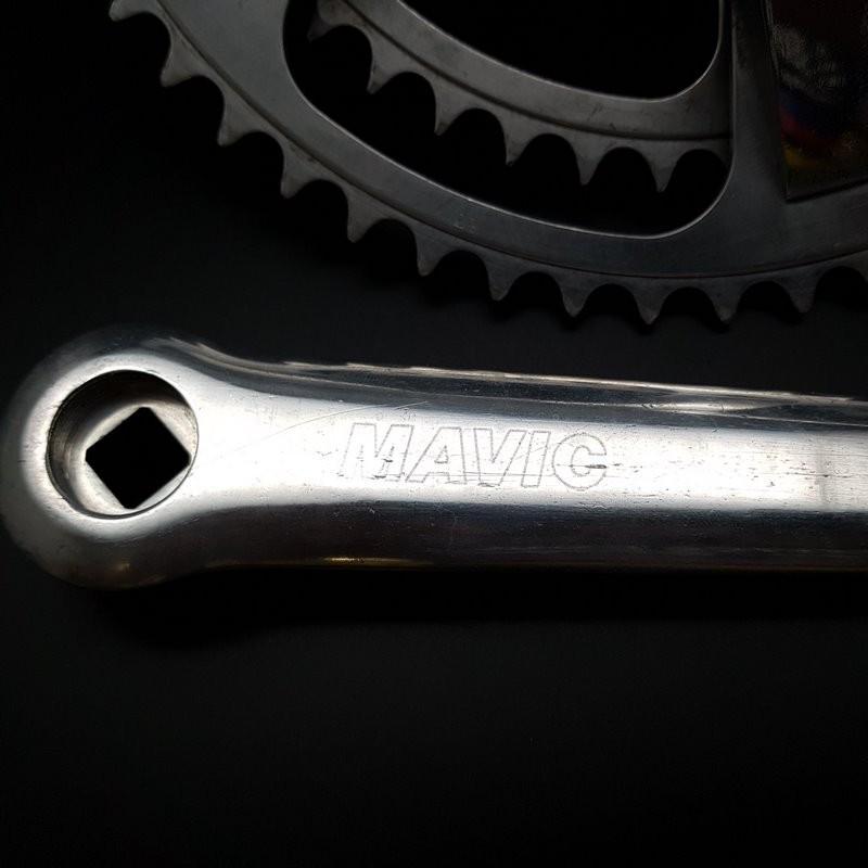 """Juego de bielas """"MAVIC 631 ESTRELLA de mar"""" 172.5 mm (Ref 605)"""