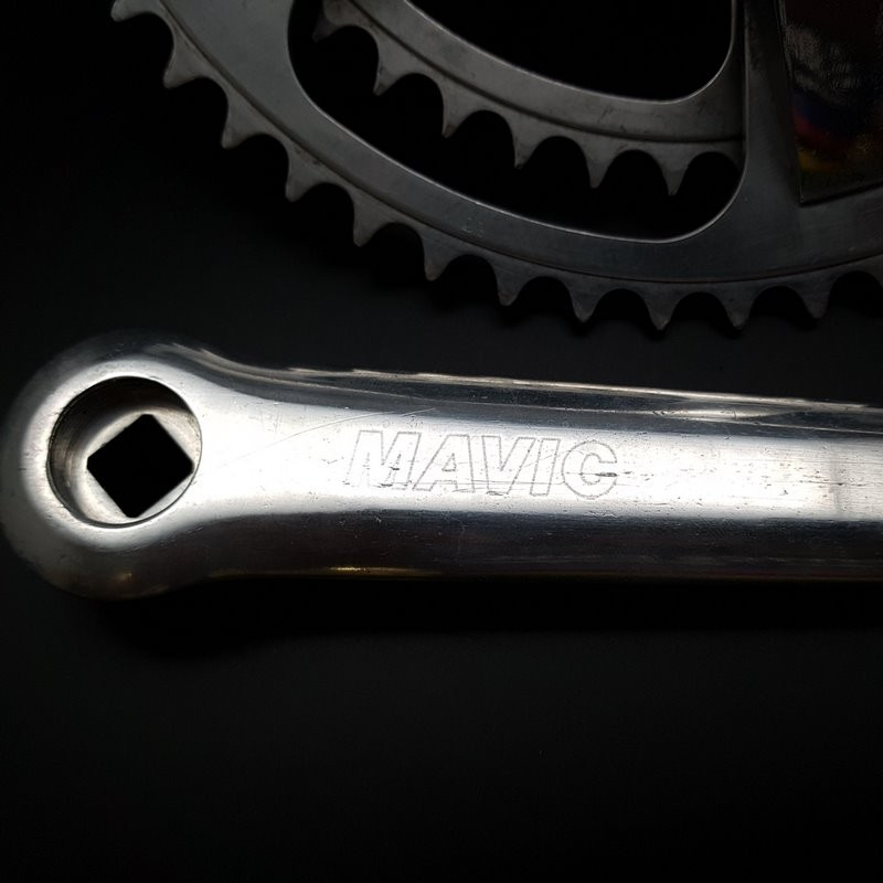 "Pédalier ""MAVIC 631 STARFISH"" 172.5mm (Ref 605)"