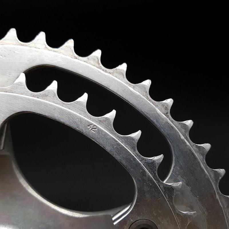 "Kettenradgarnitur ""MAVIC 631 STARFISH"" 172.5 mm (Ref 605)"