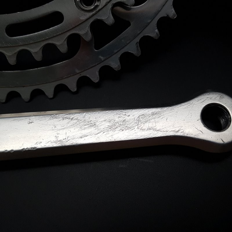 "Crankset CAMPAGNOLO GRAN SPORT"" 170 mm (Ref 607)"