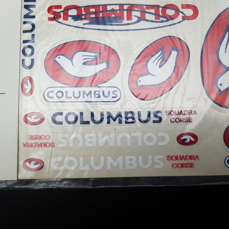 "Board aufkleber ""COLUMBUS"" UNSERE"