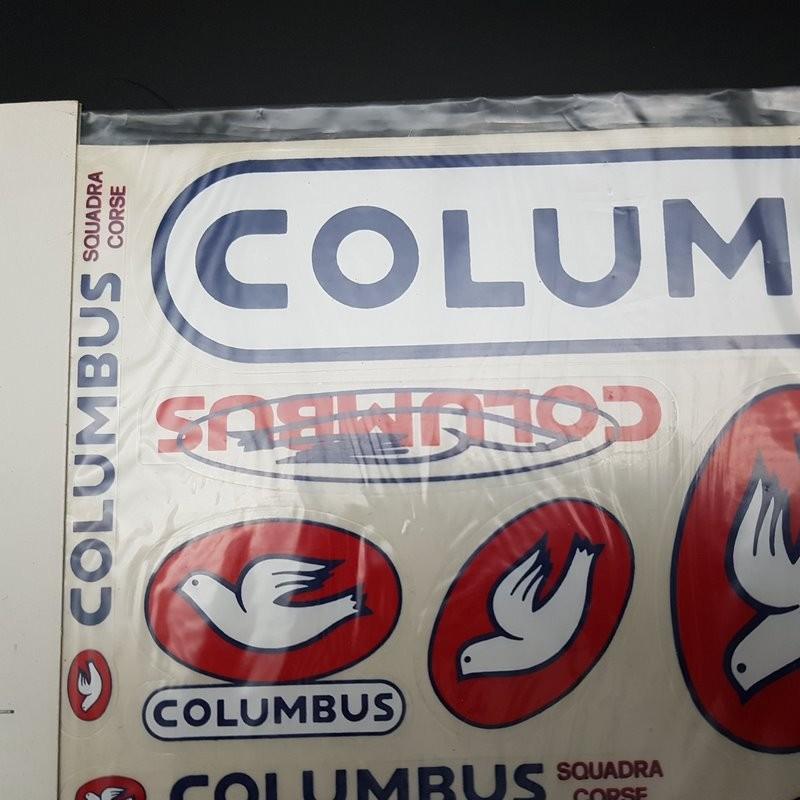 """Scheda adesivi """"COLUMBUS"""" la NOSTRA"""
