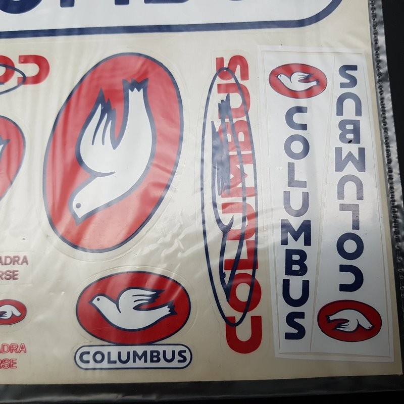 """Planche de stickers """"COLUMBUS"""" NOS"""