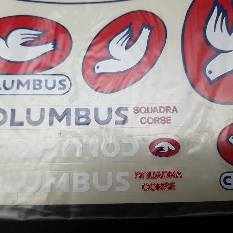 """Board stickers """"COLUMBUS"""" OUR"""