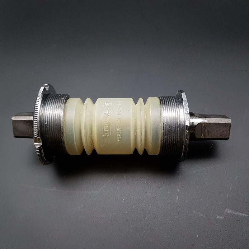 """Crank axis """"SPIDEL/STRONGLIGHT"""" 120 mm 35 x 1 (Ref 313)"""