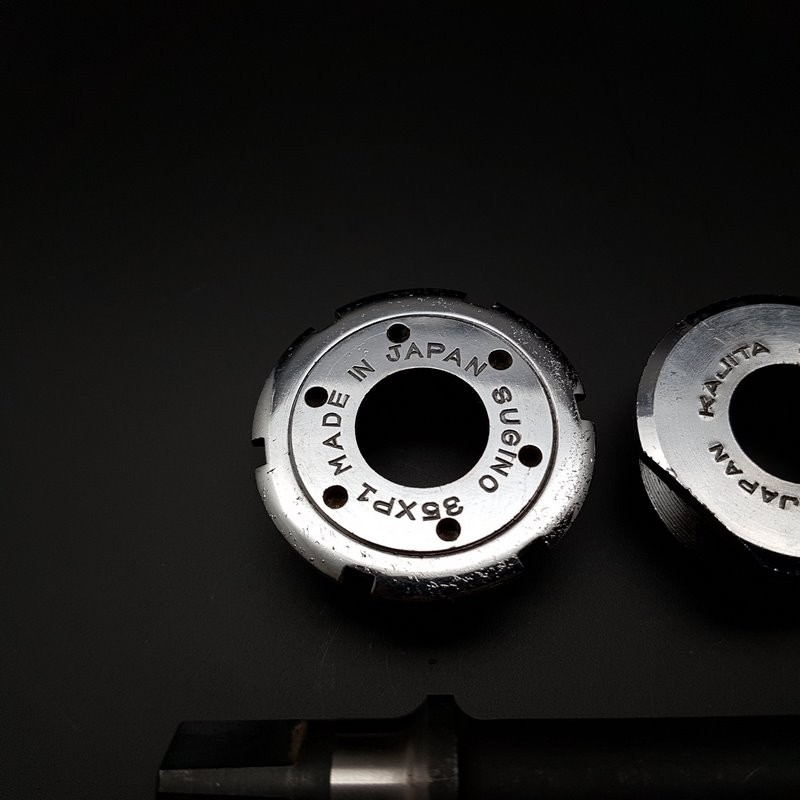 "Manovella ""SUGINO POSSENTE"", 114 mm 35 x 1 (Rif 314)"