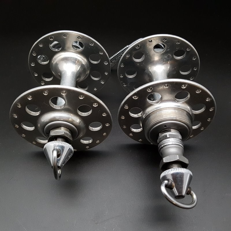 """Pair of hubs CAMPAGNOLO NUOVO TIPO"""" 36t (Ref 312)"""