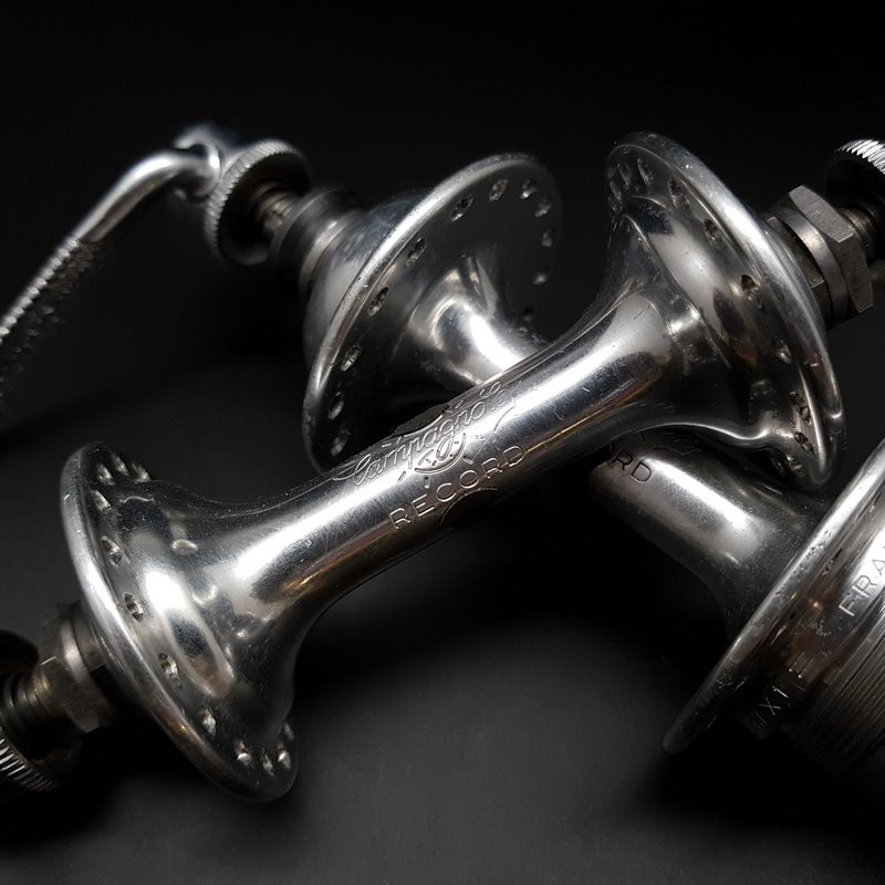 Pair of hubs CAMPAGNOLO RECORD 36t (Ref 315)