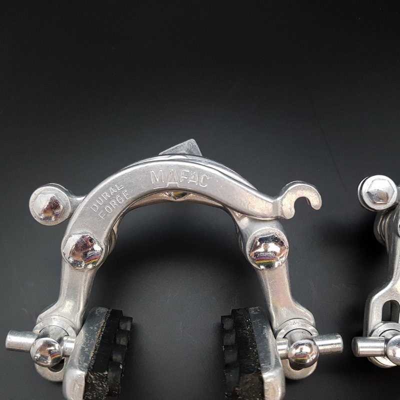 "Pads, brake MAFAC DUAL FORGE"" (Ref 412)"