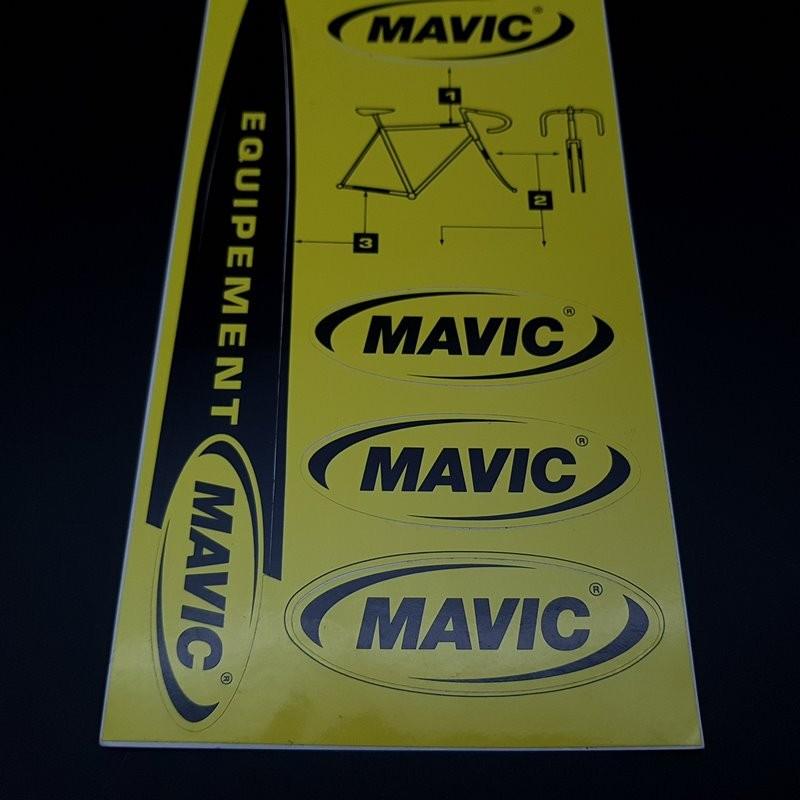 """Planche de stickers """"MAVIC"""""""