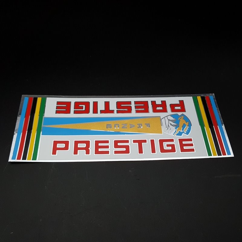 "Sticker frame ""PRESTIGE of France"" OUR"