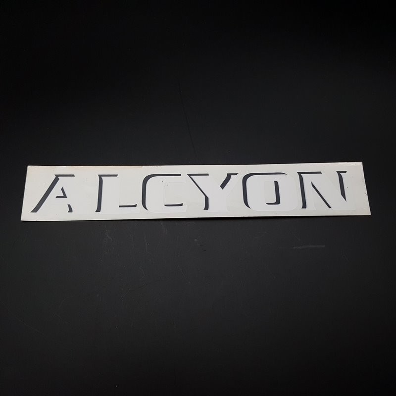 "Sticker ""ALCYON"" Horizontal "" OUR"