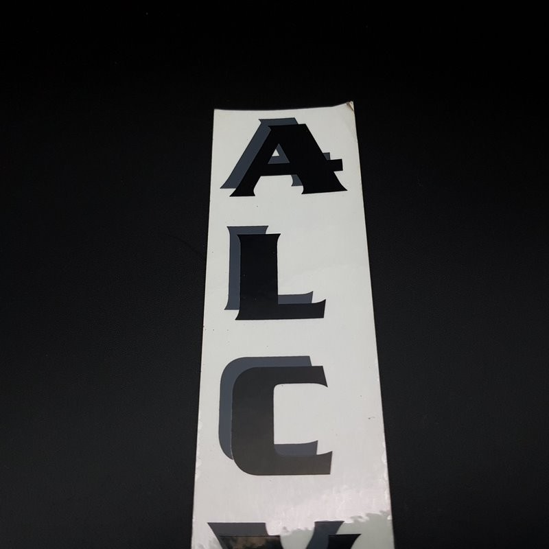 "Sticker ""ALCYON"" Vertical NOS"