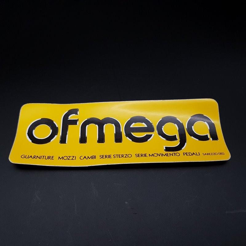 "Aufkleber ""OFMEGA"" gelb UNSERE"