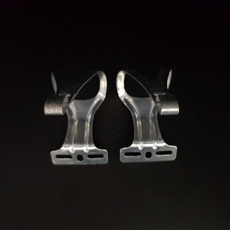 """Cales pieds """"GALLI aluminium"""" Taille M (Ref 26)"""