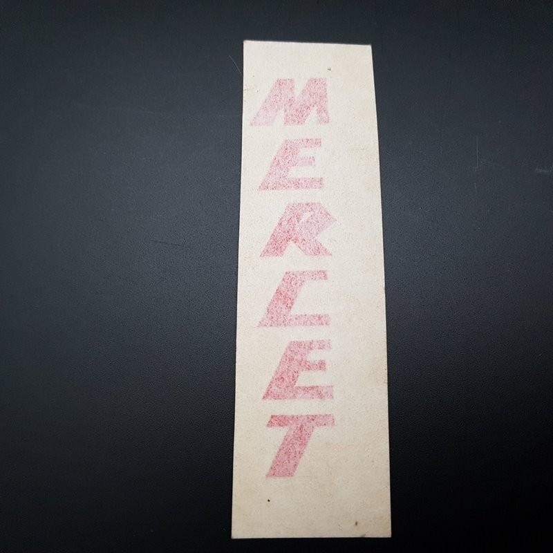 """Sticker """"MERCET"""" NOS"""