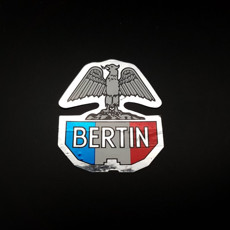 """Pegatina marco de """"BERTIN"""" NUESTRO"""