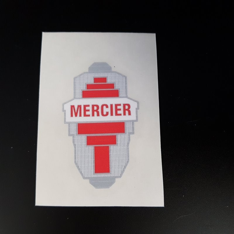 "Sticker ""MERCIER"" (Ref 09)"