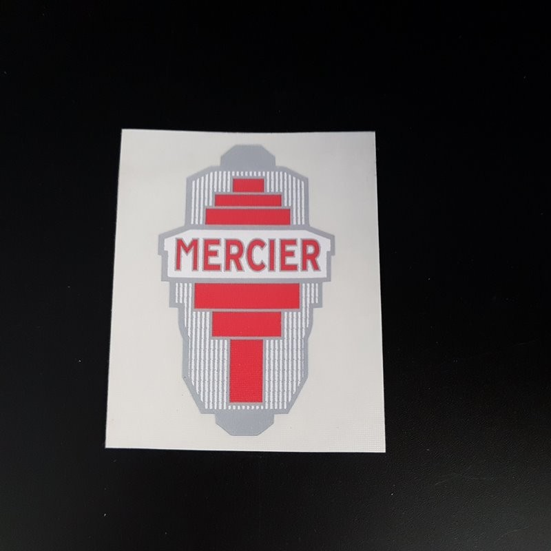 "Sticker ""MERCIER"" (Ref 02)"