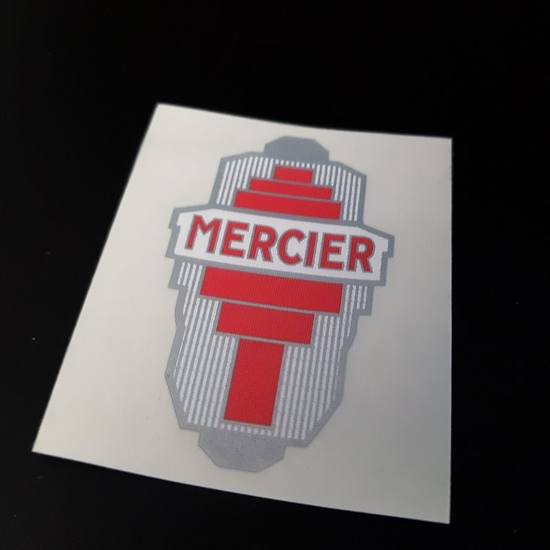 """Aufkleber """"MERCIER"""" (Ref 02)"""