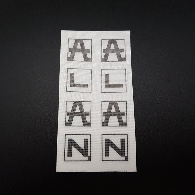 """Pegatina con """"ALAN"""""""