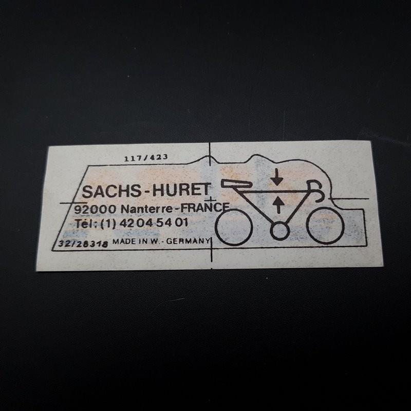 "Sticker ""SACHS ARIS"" NOS"