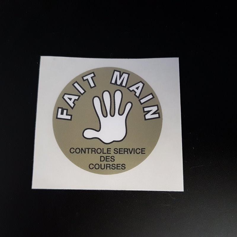 "Sticker ""MERCIER Fait Main"" (Ref 06)"