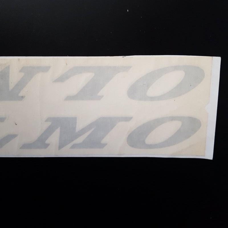 """Bollino """"OLMO Racing"""" la NOSTRA"""