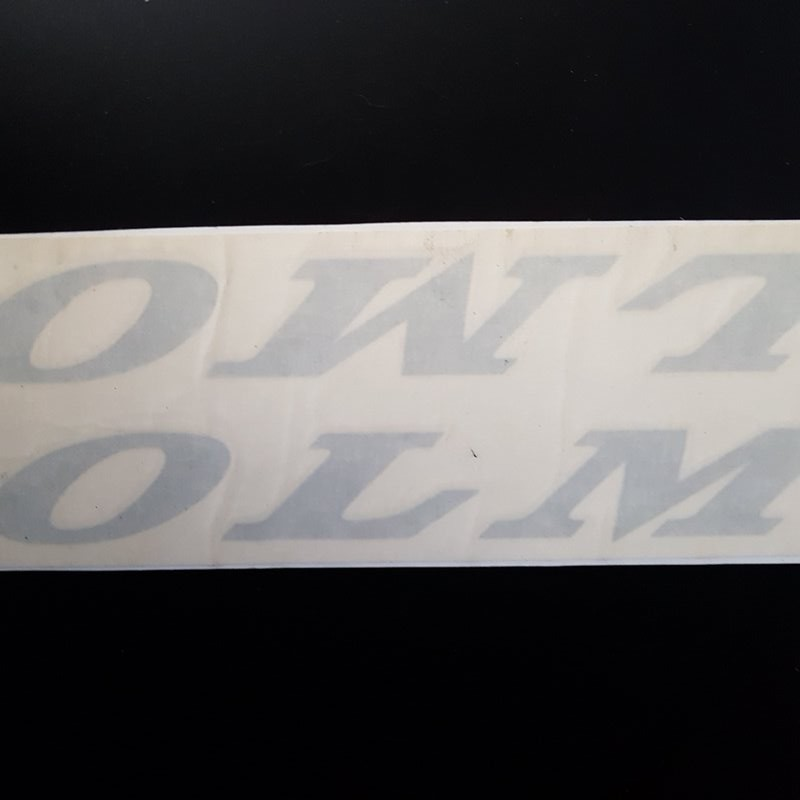"Sticker ""OLMO Racing"" UNSERE"