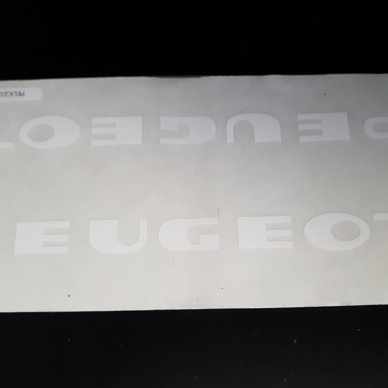 """Pegatina marco de """"PEUGEOT"""" (Ref 03)"""