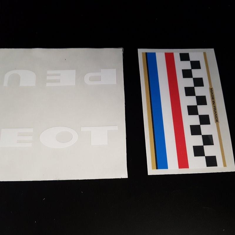"Sticker frame ""PEUGEOT"" (Ref 03)"