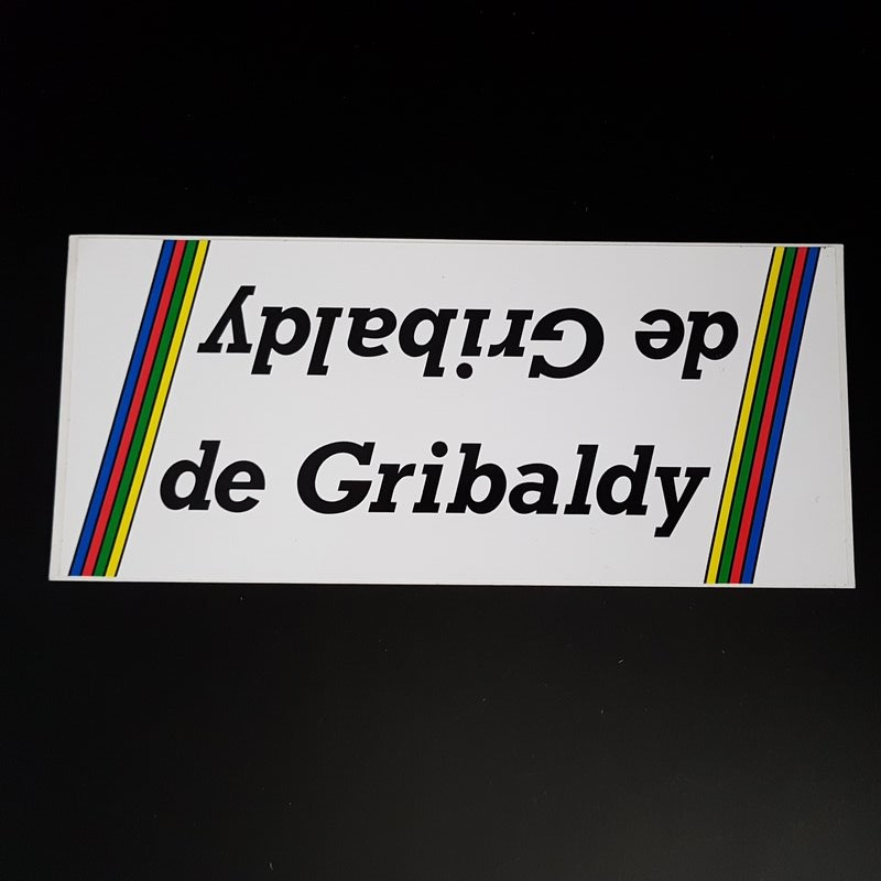 """Sticker frame """"OF GRIBALDY"""" OUR"""
