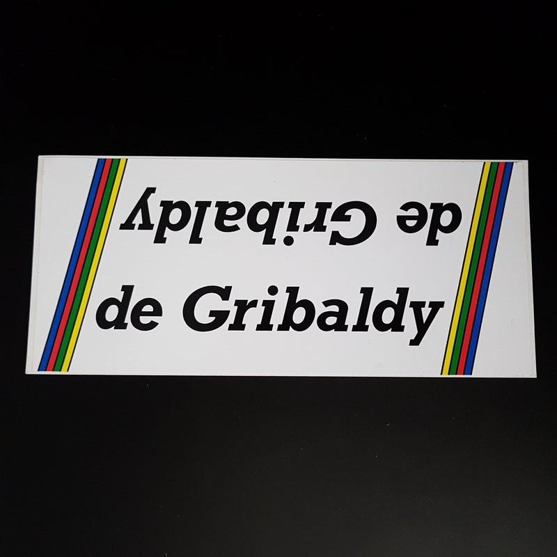 "Sticker-rahmen ""DE GRIBALDY"" UNSERE"