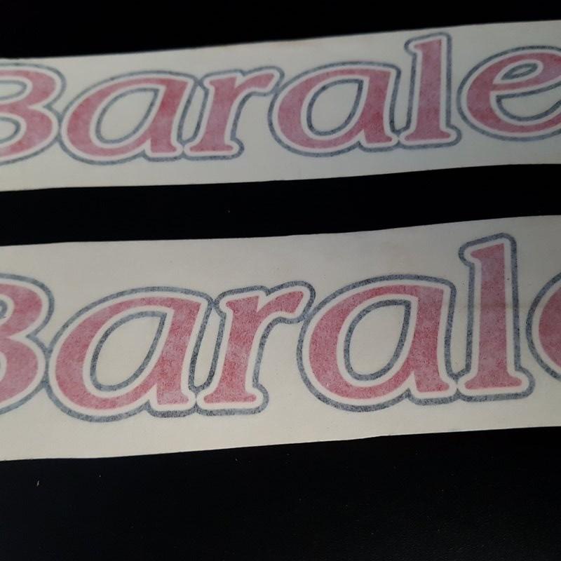"""Adesivi telaio """"BARALE"""" (Rif 03)"""