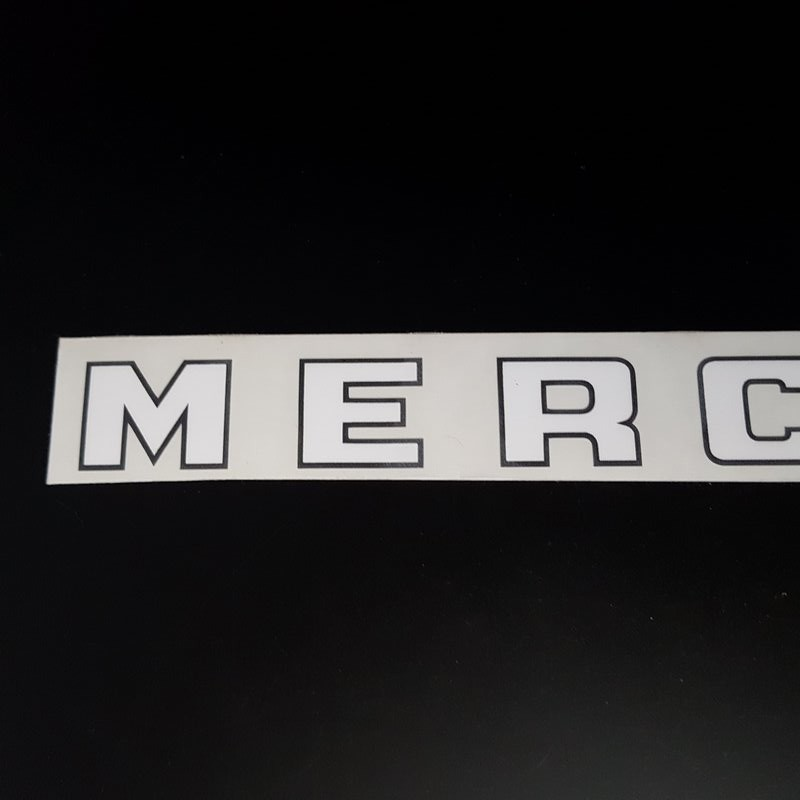"Sticker de cadre ""MERCIER"" (Ref 08)"
