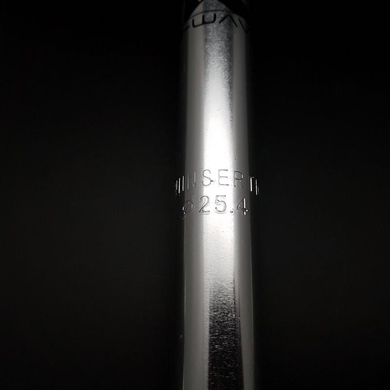 "Telescopic seatpost ""WAVE"" Ø 25.4 (Ref 265)"