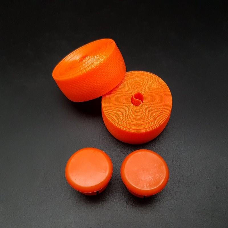 ", Nastro manubrio Stile ""BENOTTO"" Orange (Rif 69)"
