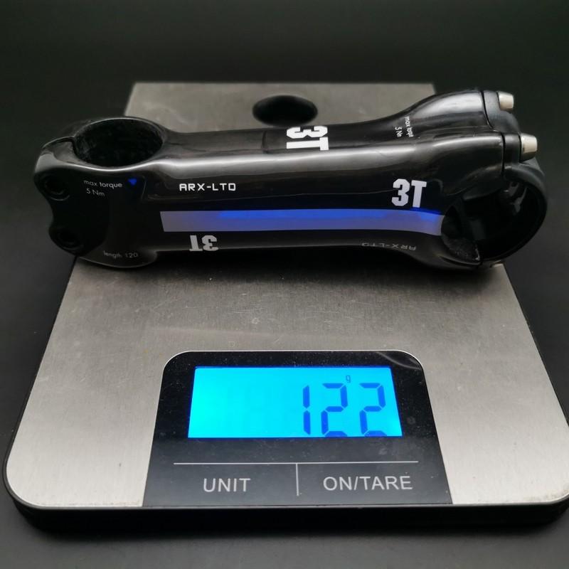 """Stem Aheadset """"3ttt ARX LTO Carbon, 120 mm (Ref 650)"""