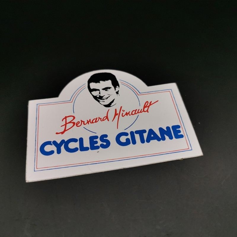 """Sticker """"CYCLES GITANE Hinault"""" OUR"""