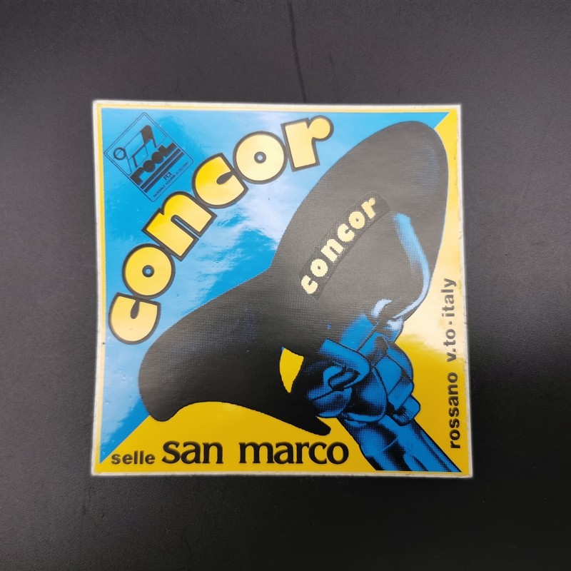 """Sticker """"SAN MARCO CONCOR"""" NOS"""