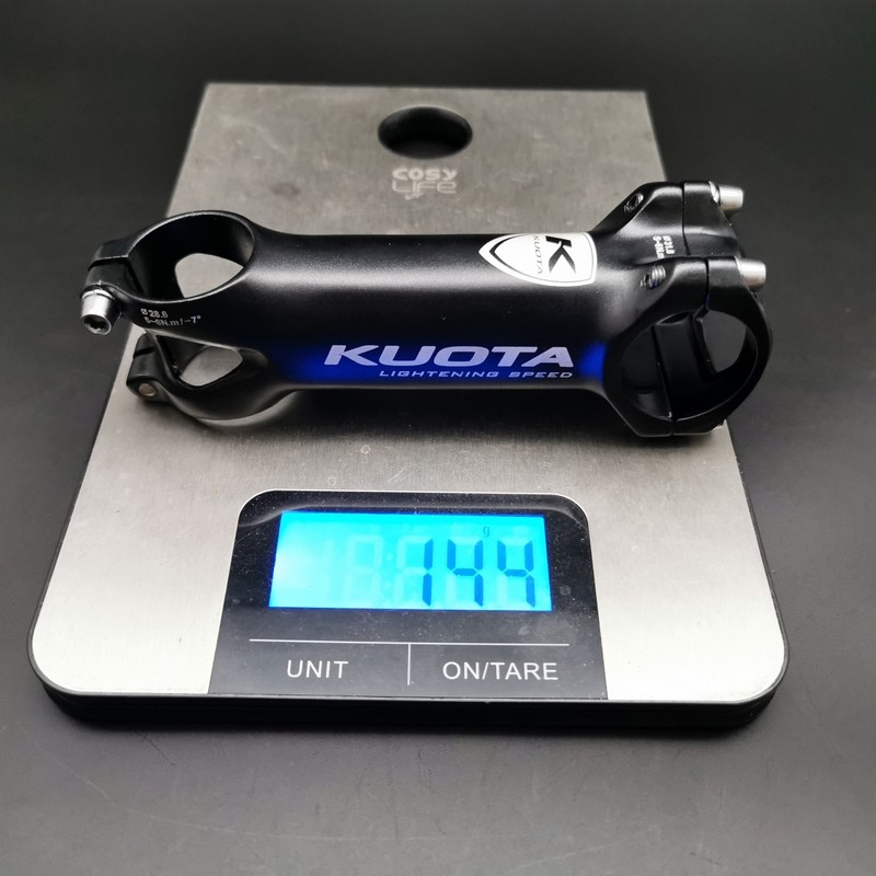 "Stem Aheadset ""KUOTA Lightning Speed"" 115 mm (Ref 656)"