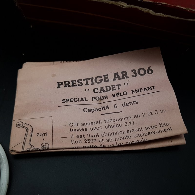"""rear Derailleur OUR """"SIMPLEX AR 306 PRESTIGE Type"""" CADET """" 3v """" (Ref 1164)"""