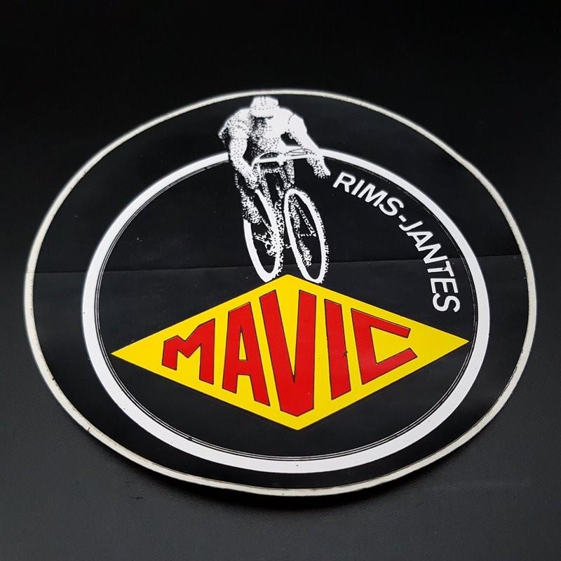 "Sticker /""MAVIC Blanc/"" NOS Ref 01"