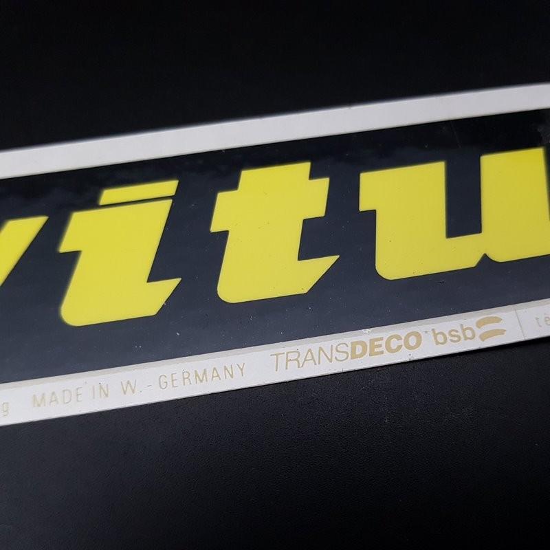 """Sticker """"VITUS"""" OUR"""