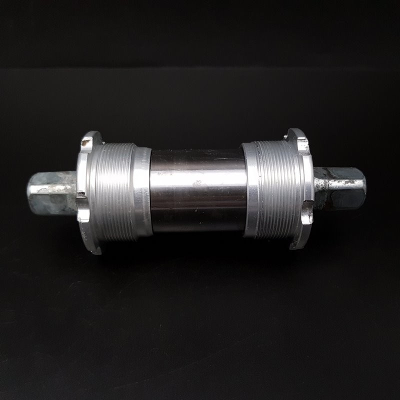 """Crank axis """"CAMPAGNOLO VELOCE"""" 116 mm BSC (Ref 340)"""