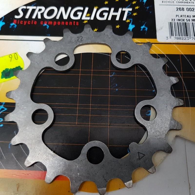 "Altopiano NOS ""STRONGLIGHT in acciaio INOX"" 22d BCD 58 (Rif 737)"