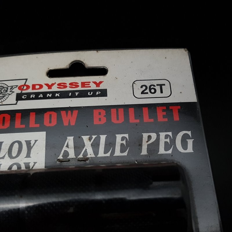 "Pegs BMX ODYSSEY ""HOLLOW BULLET"" (Ref 02)"