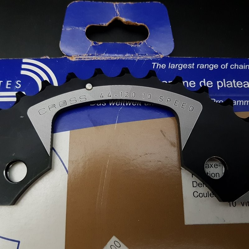 """Plateau OUR """"SPECIALITIES TA CROSS"""" 44d BCD 120 (Ref 768)"""