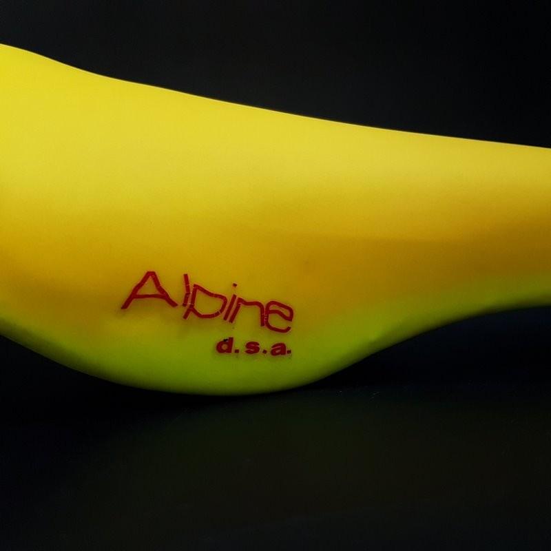 "Selle Italia ALPINE D. S."" fluorescent Yellow (Ref 380)"